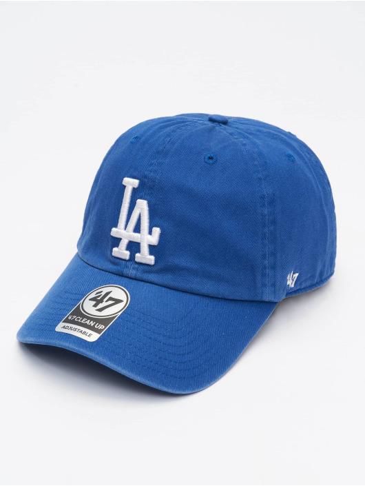 47 Brand Snapback Cap MLB Los Angeles Dodgers Clean Up blau