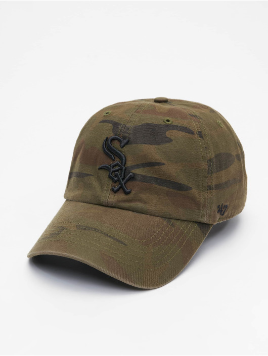 47 Brand Snapback Cap White Sox Regiment Clean Up camouflage