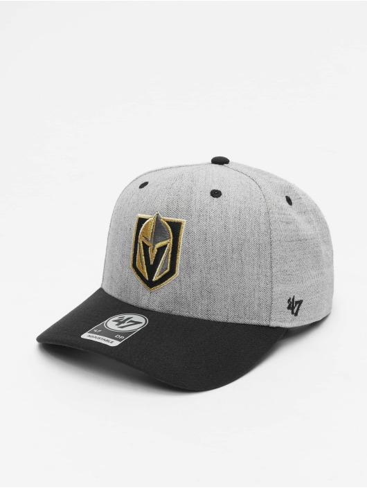 47 Brand Snapback Cap NHL Vegas Golden Knights Storm Cloud TT MVP DP grau