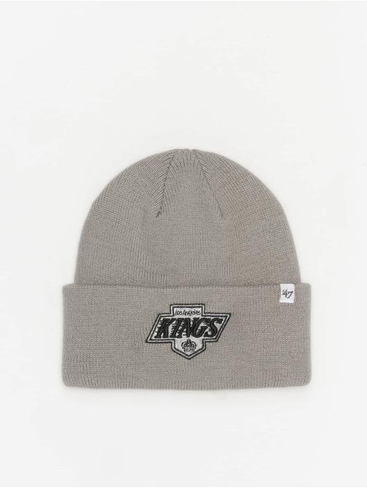 47 Brand Snapback Cap Kings Raised Cuff Knit grau