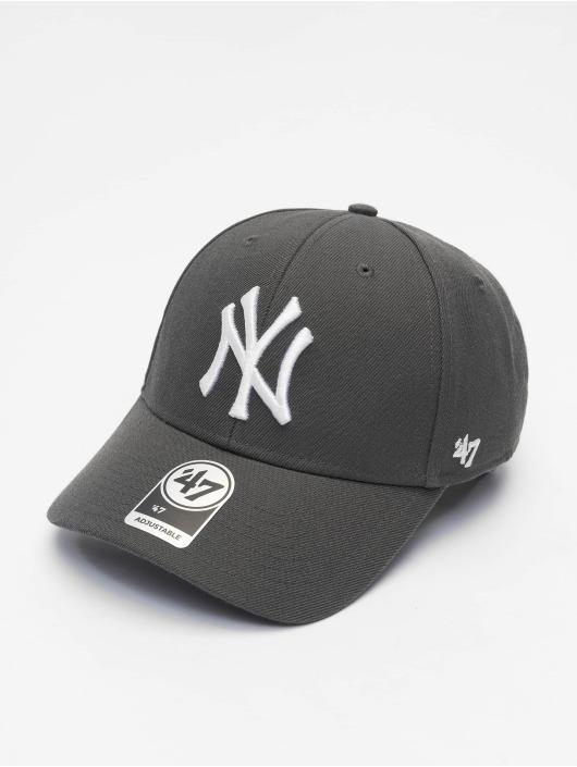 47 Brand Snapback Cap MLB New York Yankees MVP grau