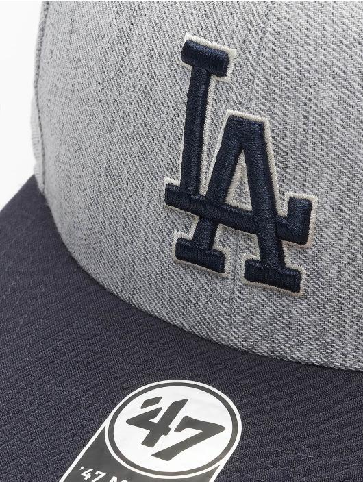 47 Brand Snapback Cap Los Angeles Dodgers grau