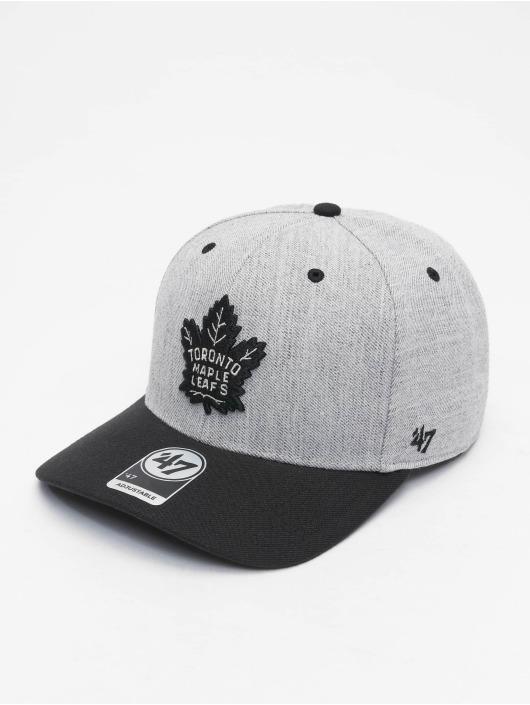 47 Brand Snapback Cap Toronto Maple Leafs Storm Cloud TT MVP DP grau