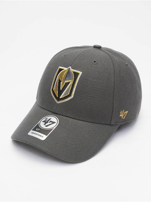 47 Brand Snapback Cap NHL Vegas Golden Knights MVP grau