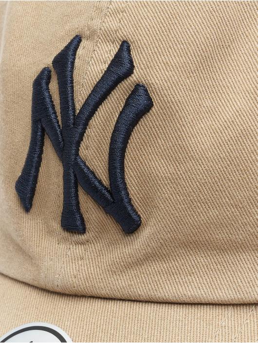 47 Brand Snapback Cap MLB Clean Up khaki