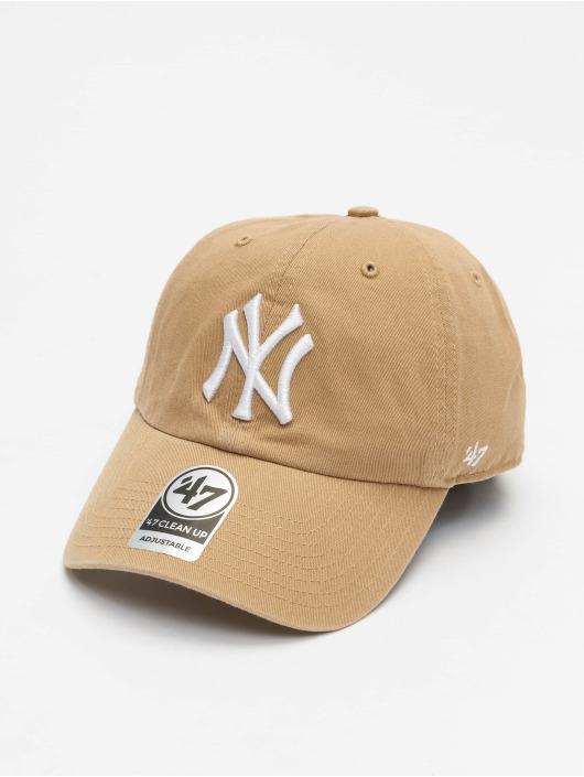 47 Brand Snapback Cap Clean Up khaki
