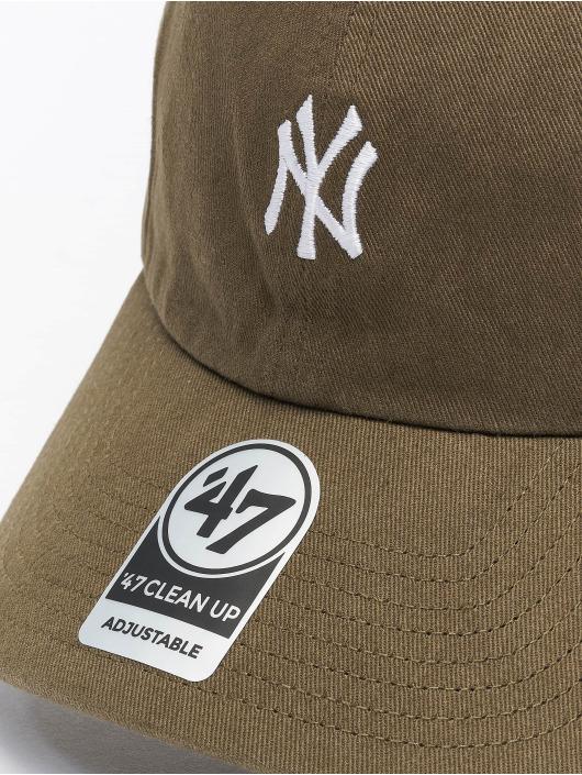 47 Brand Snapback Cap Yankees Hirano Clean Up olive