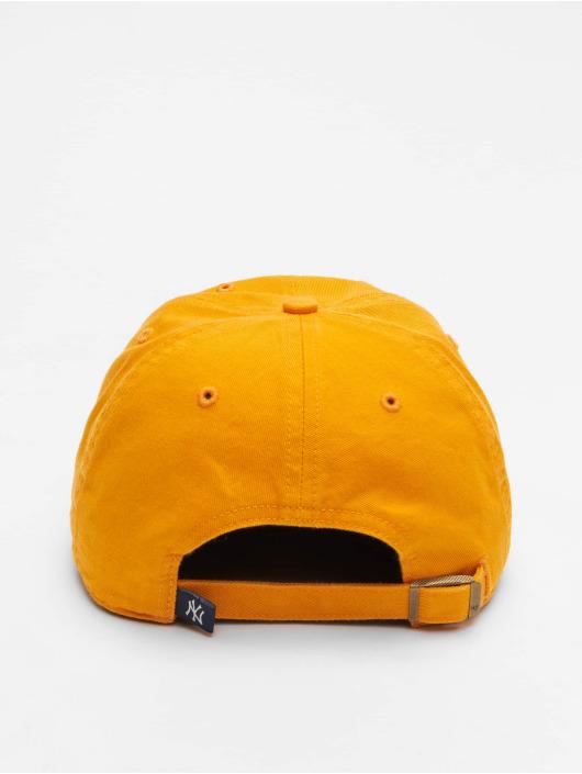 47 Brand Snapback Cap Mlb Clean Up orange