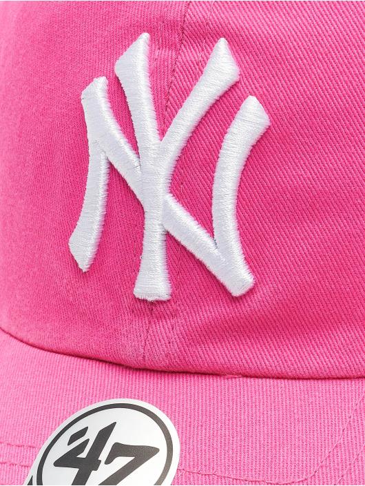 47 Brand Snapback Cap Yankees Clean Up pink