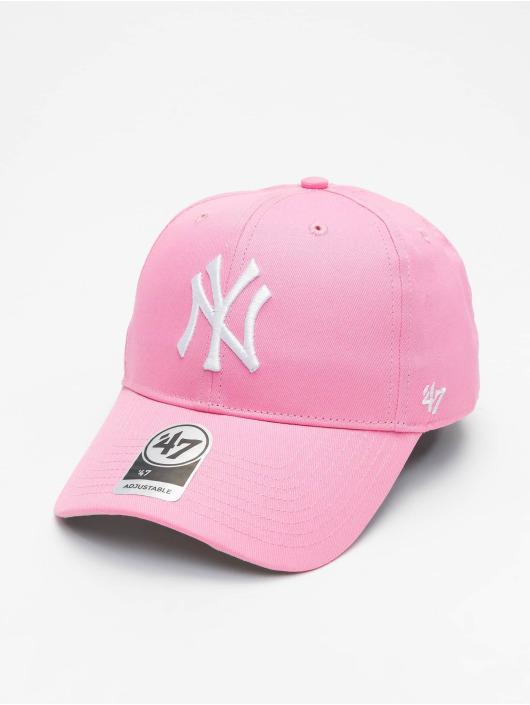 47 Brand Snapback Cap New York Yankees Raised Basic MVP rosa