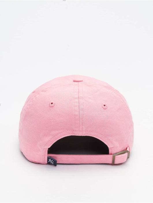 47 Brand Snapback Cap Yankees Clean Up rosa