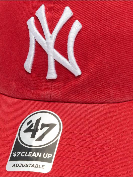 47 Brand Snapback Cap MLB New York Yankees Clean Up rot
