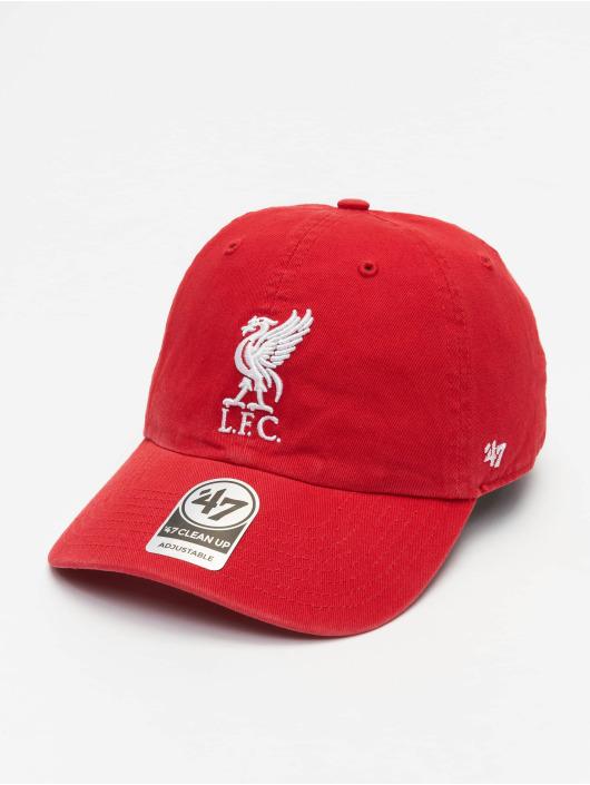 47 Brand Snapback Cap EPL Liverpool FC Clean Up Cap rot