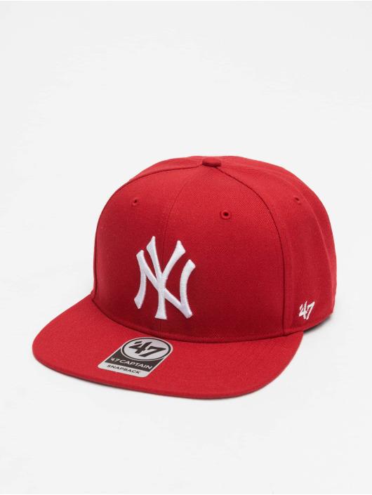47 Brand Snapback Cap Sure Shot Captain rot