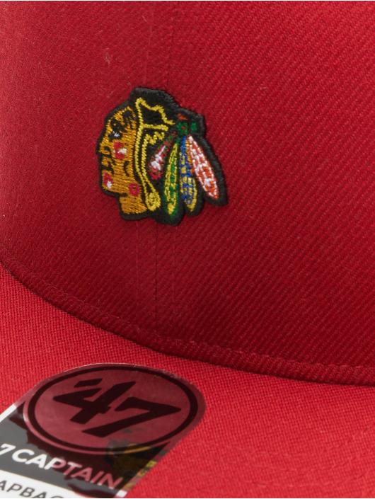 47 Brand Snapback Cap MLB Centerfield Captain rot