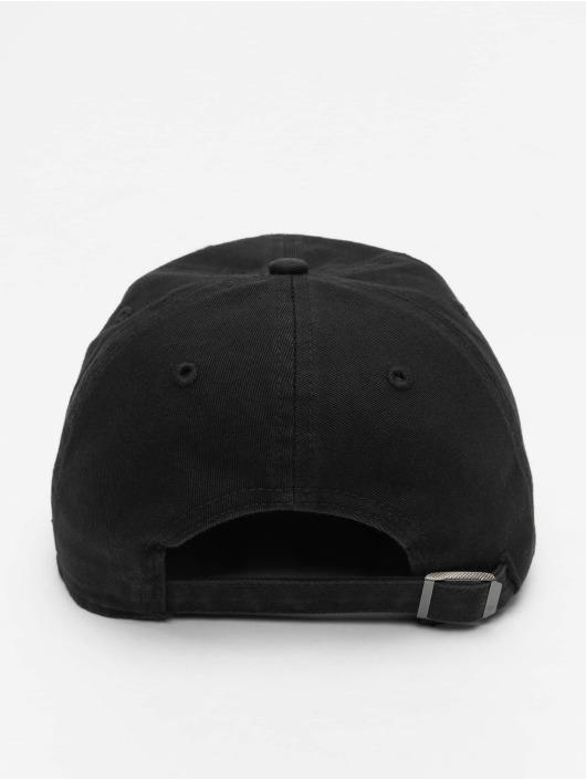 47 Brand Snapback Cap MLB Los Angeles Dodgers Base Runner Clean Up schwarz