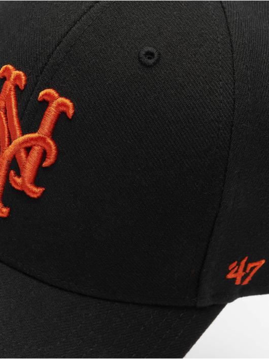 47 Brand Snapback Cap MLB New York Mets MVP schwarz