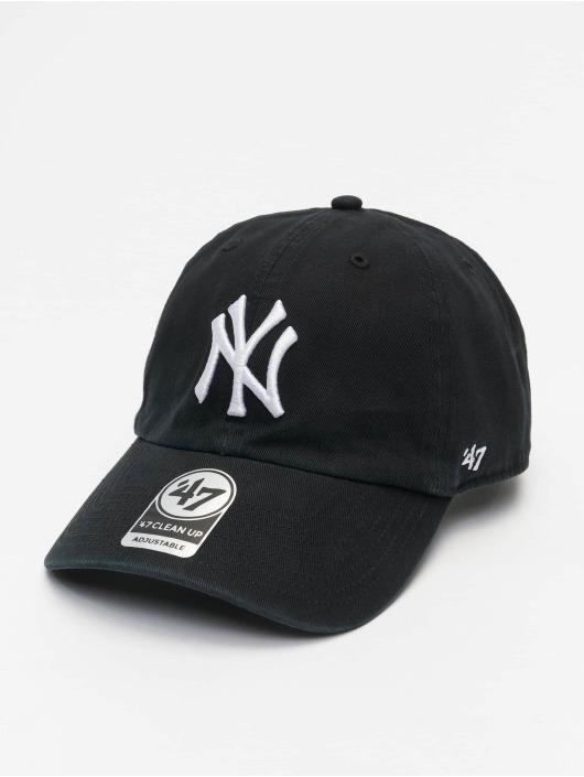 47 Brand Snapback Cap MLB New York Yankees Clean Up schwarz