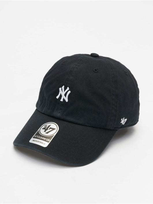 47 Brand Snapback Cap MLB Abate Clean Up schwarz