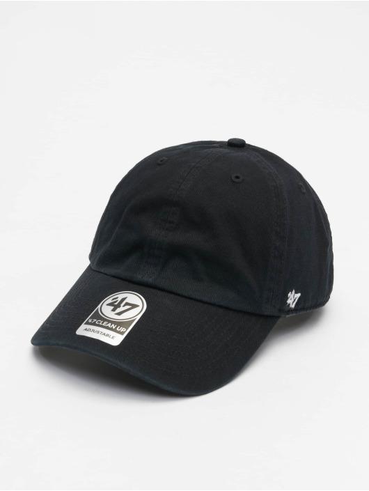 47 Brand Snapback Cap Classic Clean Up schwarz