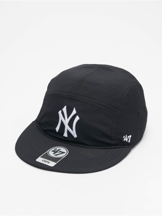 47 Brand Snapback Cap Yankees Five Panel schwarz