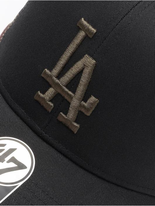 47 Brand Snapback Cap MLB Los Angeles Dodgers Back Switch MVP schwarz