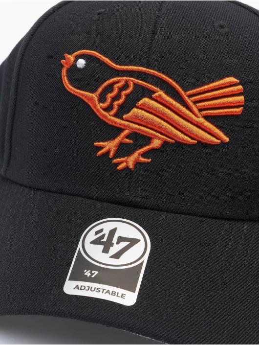 47 Brand Snapback Cap MLB Baltimore Orioles MVP schwarz