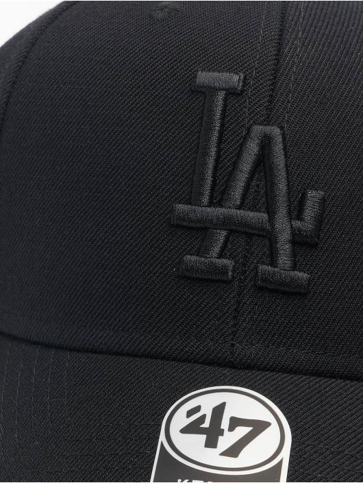 47 Brand Snapback Cap MLB Los Angeles Dodgers MVP schwarz