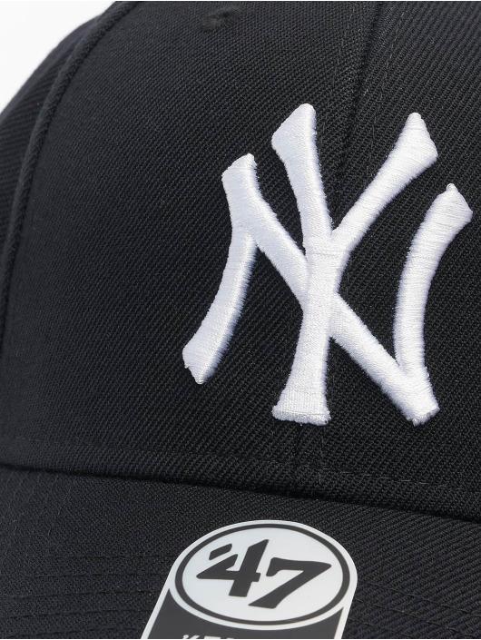 47 Brand Snapback Cap MLB New York Yankees MVP schwarz