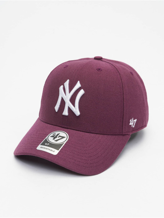 47 Brand Snapback Cap New York Yankees MVP Wool violet