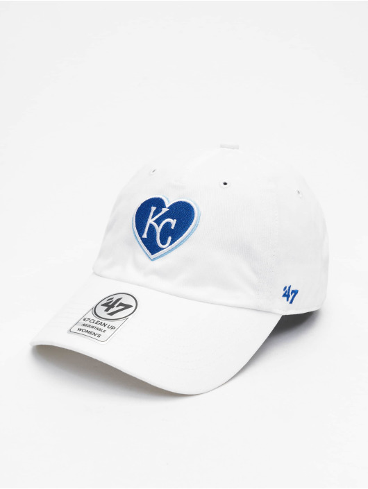 47 Brand Snapback Cap Royals Courtney Clean Up weiß