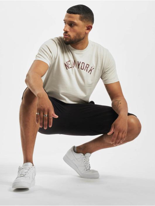 47 Brand T-Shirt Mlb Yankees Inkblock Team Flatiron beige
