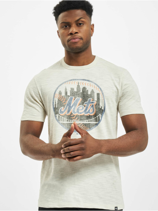 47 Brand T-Shirt Mets Grit Scrum beige