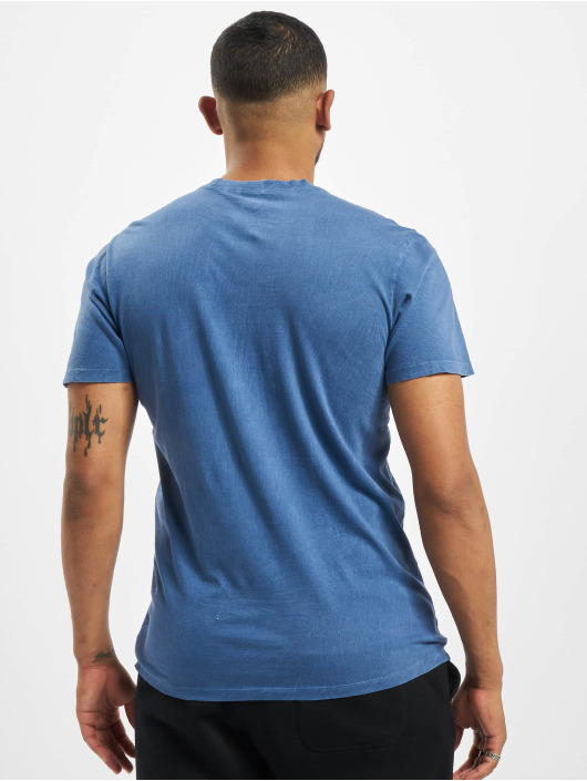 47 Brand T-Shirt MLB Brooklyn Dodgers Scrum Slim blau