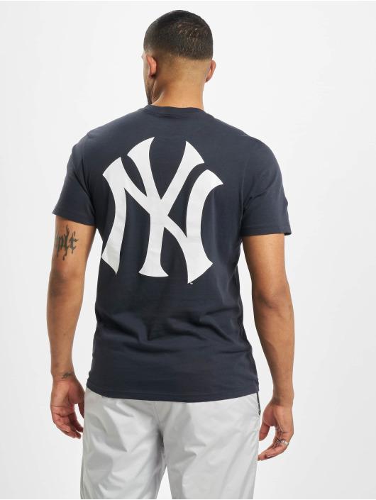 47 Brand T-Shirt Mlb Yankees Crosstown Frozen Rope blau