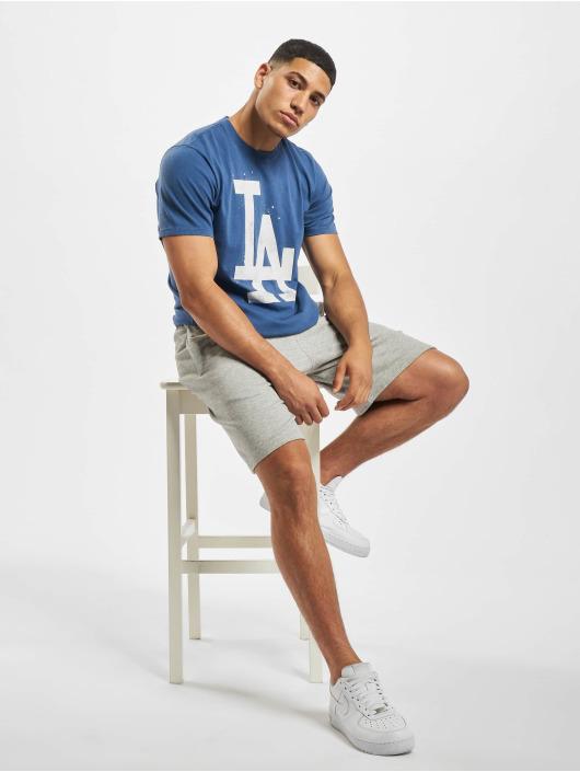 47 Brand T-Shirt MLB Dodgers Flatiron blau