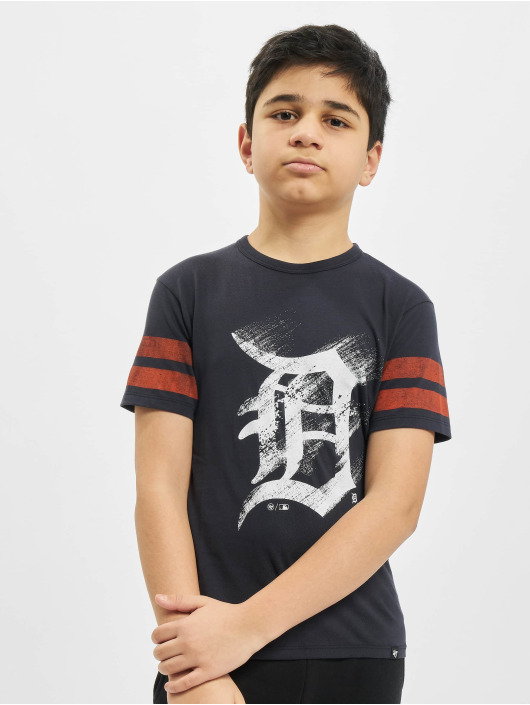 47 Brand T-Shirt MLB Tigers Go Time blau