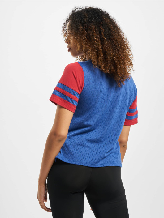 47 Brand T-Shirt MLB Dodgers Mesh Boxy blau