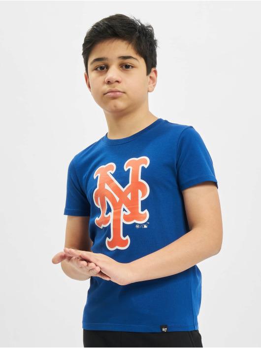 47 Brand T-Shirt MLB Mets Imprint Super Rival blau
