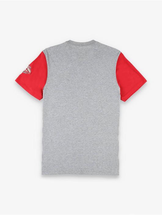 47 Brand T-Shirt Detroit Red Wings Tarmac Double Rundown grau