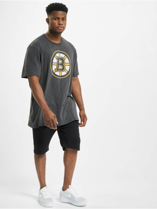 47 Brand T-Shirt Boston Bruins Scrum grau
