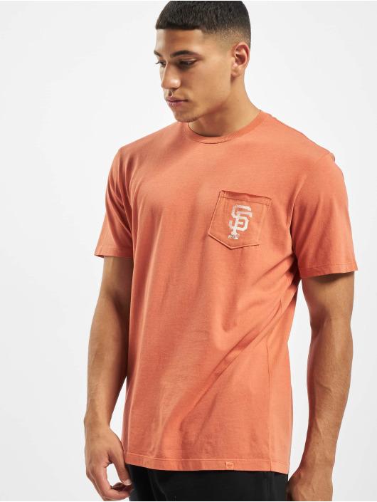 47 Brand T-Shirt San Francisco Giants Oxide Back Track Hudson Pocket orange