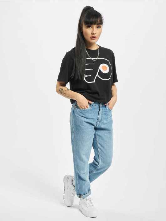 47 Brand T-Shirt Philadelphia Flyers Frozen Rope schwarz