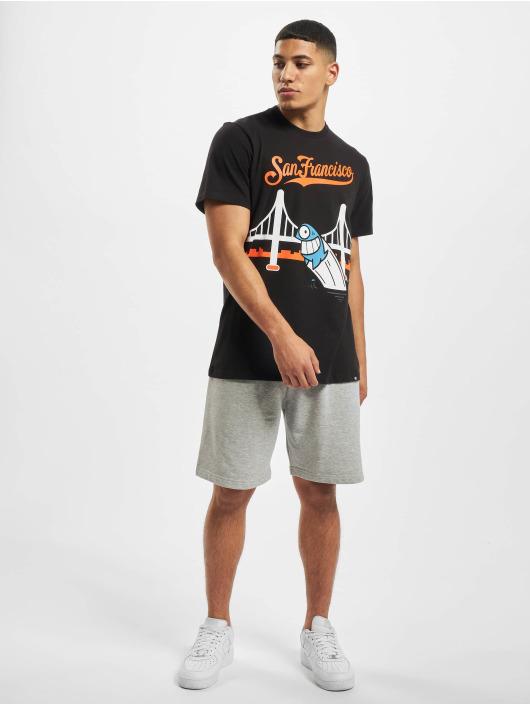 47 Brand T-Shirt San Francisco Giants Global Ar Pez Stacks schwarz