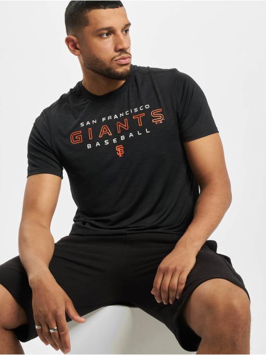 47 Brand T-Shirt Mlb Giants Microlite Shade schwarz