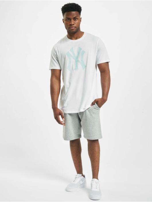 47 Brand T-Shirt Mlb Yankees Splitter weiß