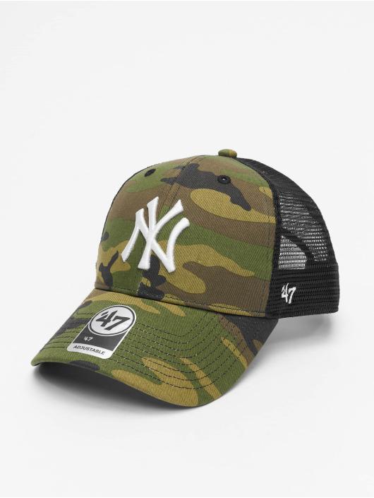47 Brand Trucker Cap MLB New York Yankees Camo Branson MVP camouflage