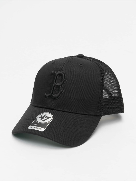 47 Brand Trucker Cap MLB Boston Red Sox Branson MVP schwarz