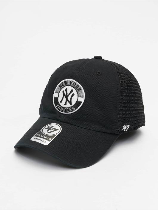 47 Brand Trucker Cap MLB Porter Clean Up schwarz