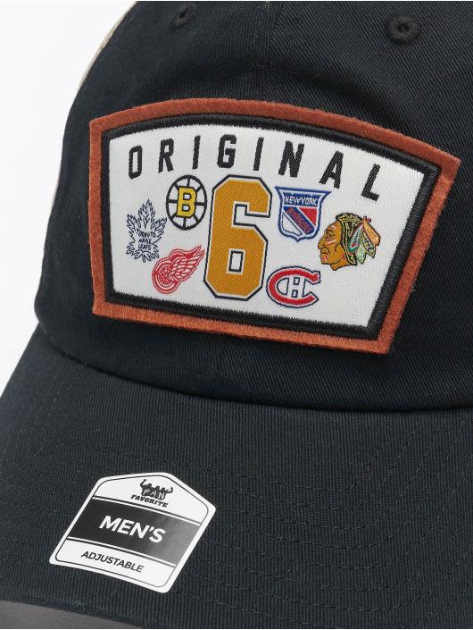 47 Brand Trucker Cap Original Six Mass Lord schwarz